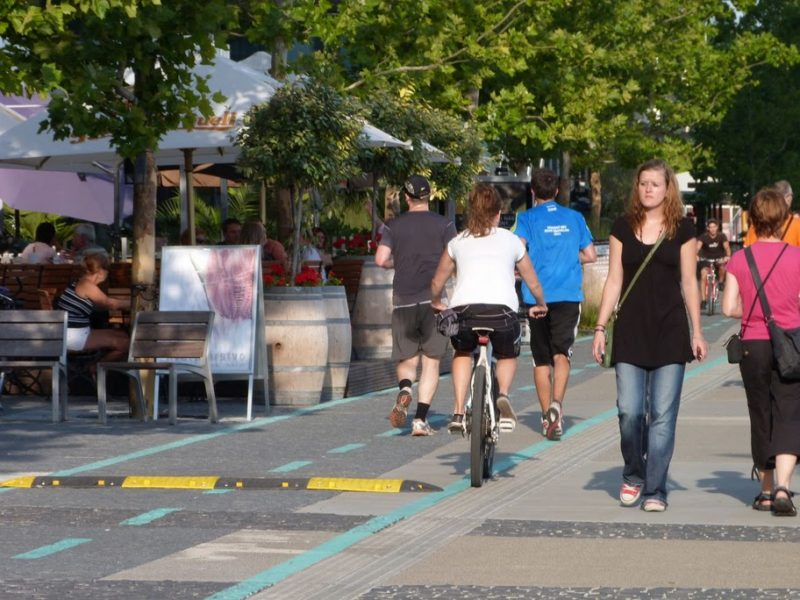 Cyklisti retardér obchádzajú, Riverpark dosiahol horšiu bezpečnosť