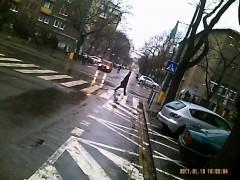 Ulica v daždi