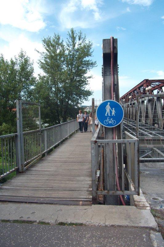 Starý most - cestička pre chodcov a cyklistov