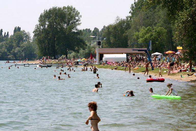 Zlaté piesky - ako sa dostať na bicykli na jazero