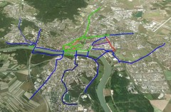 Priority 2012 - cyklotrasy Bratislava