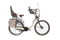 Luxusný rodinný bicykel holandského typu