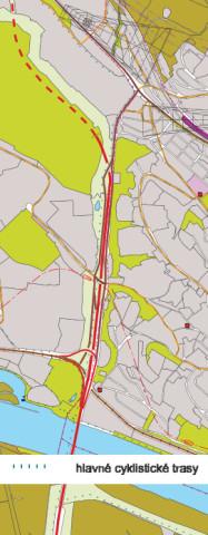 Hlavná mestská cyklotrasa (Územný plán Bratislavy)