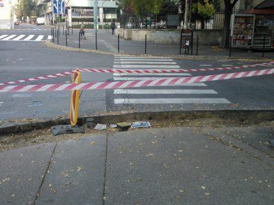 Priechod pre chodcov cez Blumentálsku dostane zo strany Májkovej bezbariérové riešenie