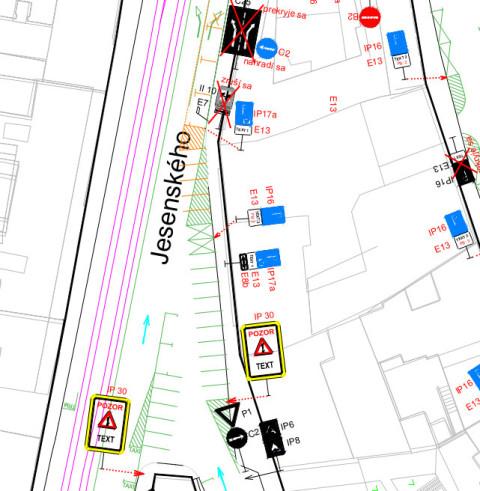 Parkovacie miesta pre autá namiesto stojanov pre bicykle? Podpora cyklistickej dopravy podľa predstáv mesta.
