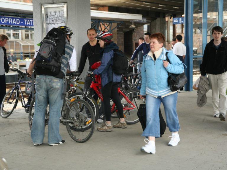 bicykle vo vlaku