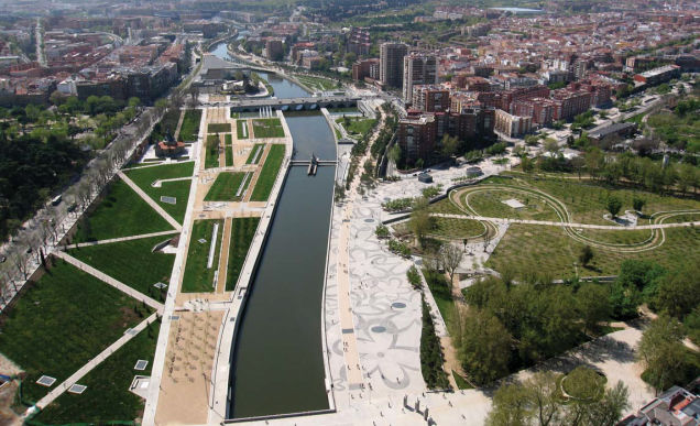 Madrid Río - po prestavbe