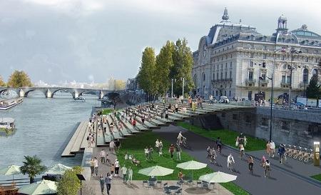Les Berges de Seine (návrh parížskej radnice)