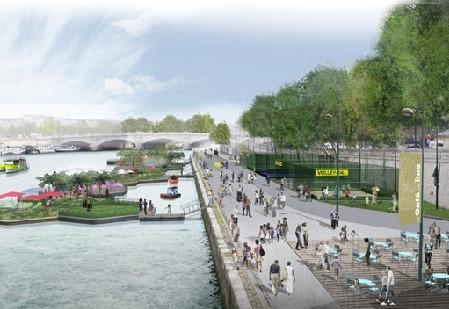 Les Berges de Seine pre ľudí