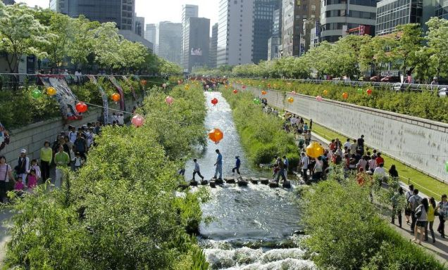 Cheonggyecheon - po