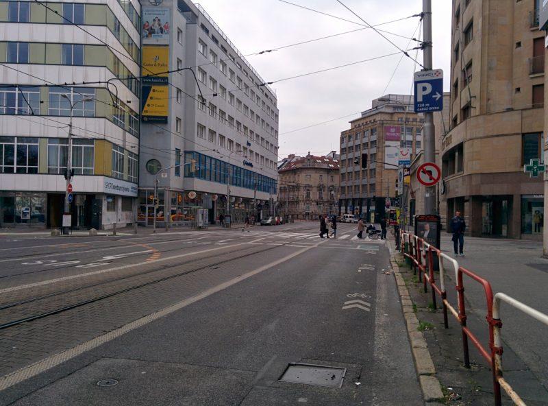 Od Špitálskej chýba legalizácia ľavého odbočenia pre cyklistov