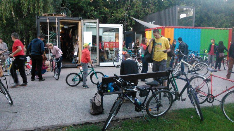 Cyklokuchyňa - komunitná cyklodieľňa
