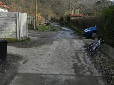 Stojaca voda všade... a že vraj medzinárovná cyklotrasa EuroVelo 13