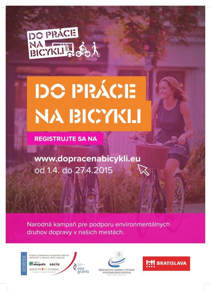 Do práce na bicykli 2015 Bratislava