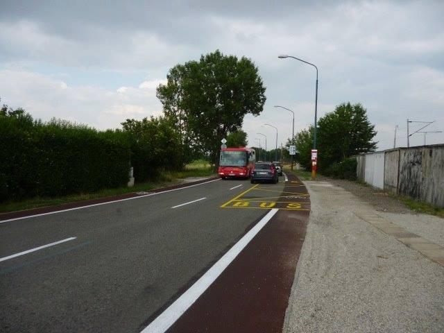 Cyklotrasa R84: Vybudovanie zastávky autobusov na Východnej ul. - Lokomotívne depo II