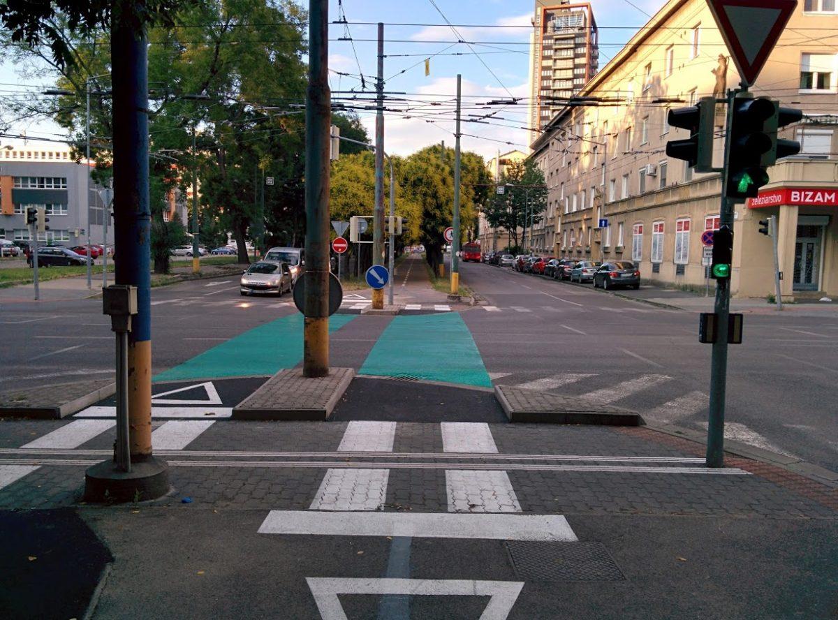 Cyklotrasa R26: Prvý cyklosemafor v Bratislave