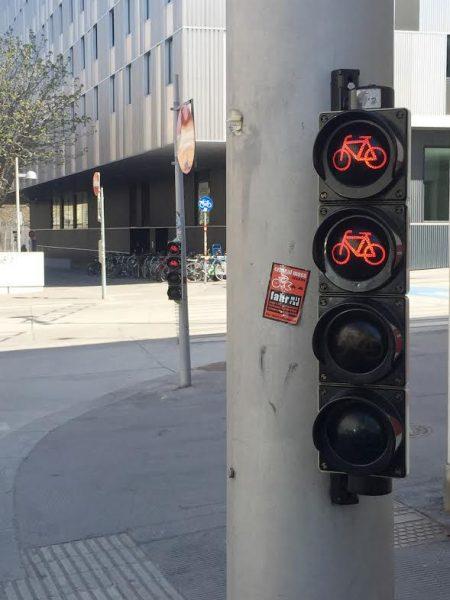 Cyklosemafor vo Viedni