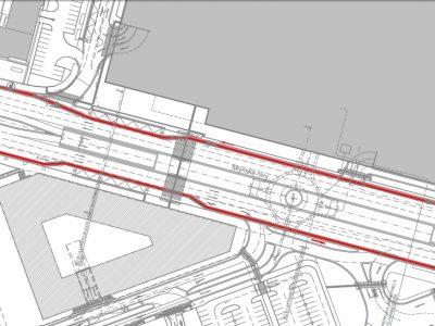 Ako budú vyzerať Mlynské nivy po výstavbe autobusovej stanice? Vyjadrenie developera