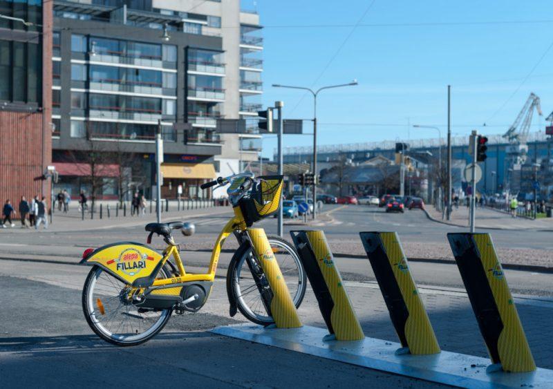 Bikesharing Helsinki