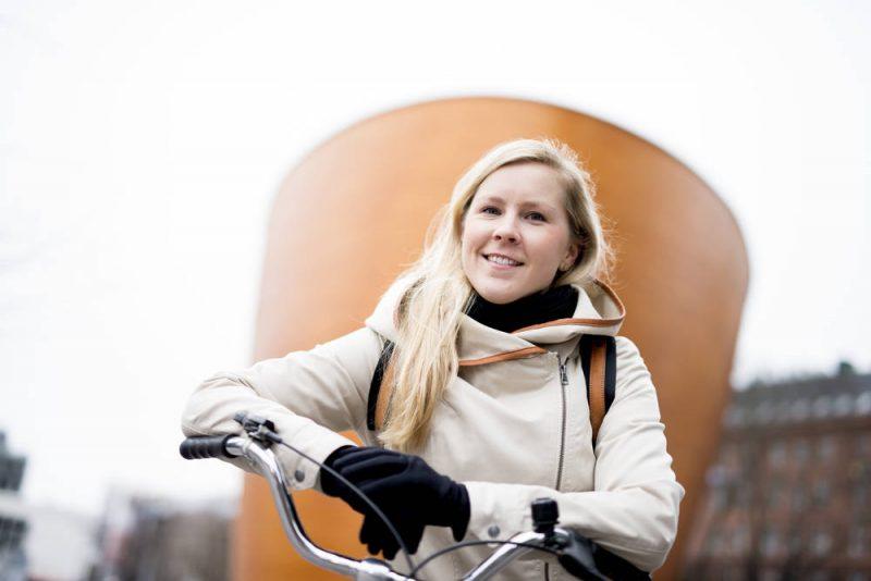 Reetta Keisanen, cyklokoordinátorka mesta Helsinki (Paula Kukkonen, City of Helsinki)