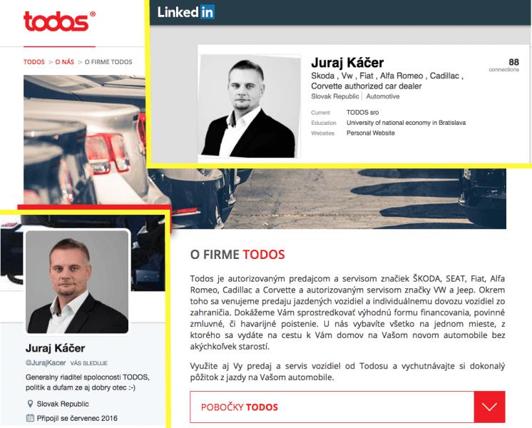Juraj Káčer, generálny riaditeľ firmy, ktorá dováža a predáva motorové vozidlá, podporuje výstavbu parkoviska na Železnej studienke