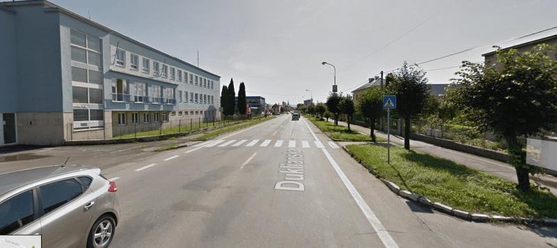 širokánska Duklianska ulica