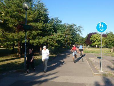 Riešenie cyklistickej infraštruktúry Pobaltie