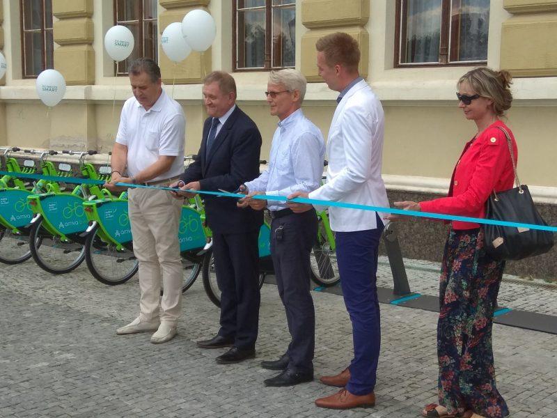 Slávnostné otváranie bikesharingu
