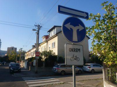 Jazda cyklistov v jednosmerných uliciach