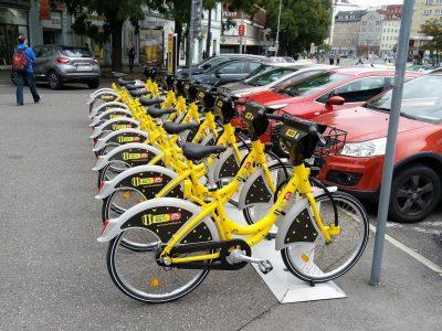 Mestský bike sharing = verejný záväzok budovať cyklotrasy