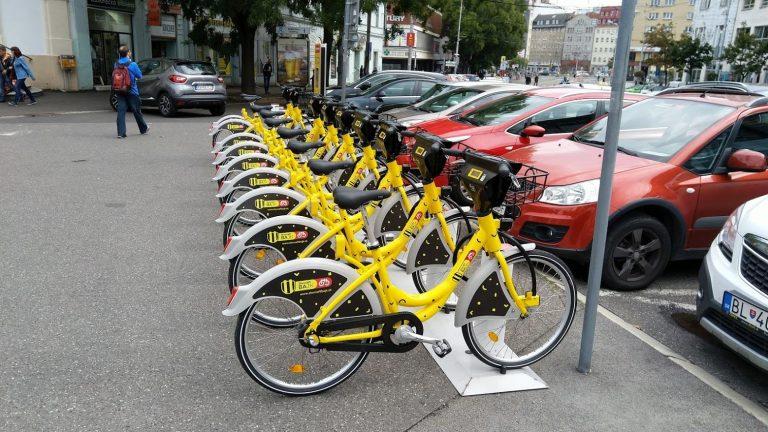 Bike sharing SlovanftBajk Bratislava