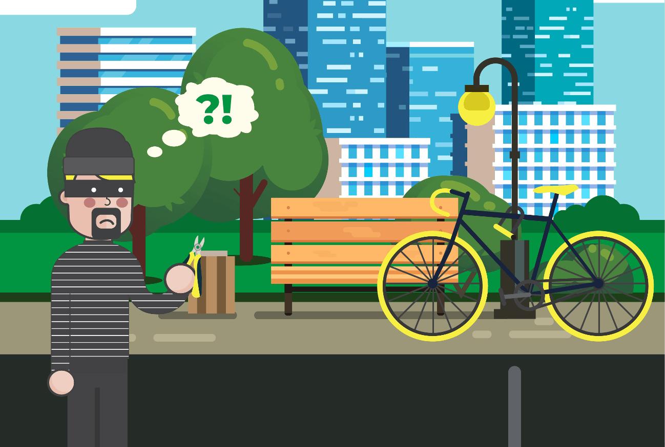 Ako si vybrať zámok na bicykel?