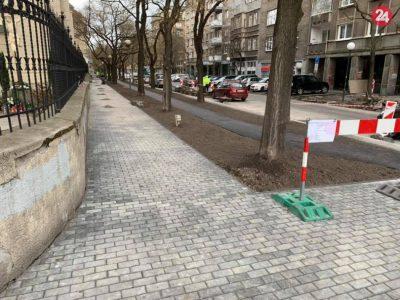 List poslancom k rekonštrukcii Blumentálskej ulice