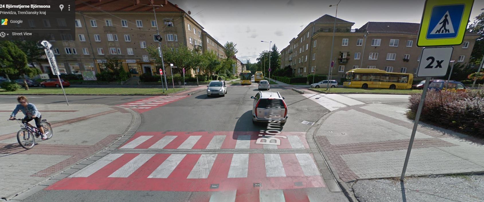 Návrh riešenia križovatky M. R. Štefánika — Björnsonova v Prievidzi