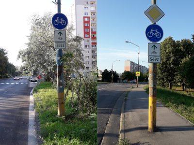 Dve nové cyklotrasy v Petržalke