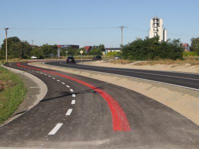 Prvá časť trasy R47 na Slovnaftskej hotová