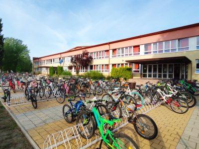 Do školy na bicykli prišiel tento rok rekordný počet žiakov